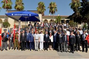20 Temmuz Barış Ve Özgürlük Bayramı'nın 41'inci Yıldönümü Mersin'de Törenlerle Kutlandı (20 Temmuz 2015)