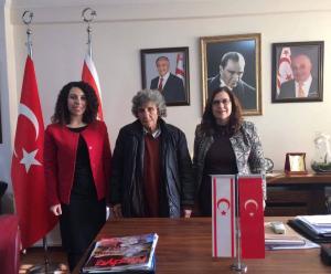 Sanatçı Lina Nasif Başkonsolosluğumuza ziyarette bulundu