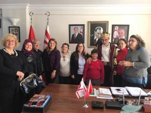 Mersin Büyükşehir Belediyesi Engelli Tiyatro Grubu Başkonsolos İnanıroğlu'na ziyarette bulundu
