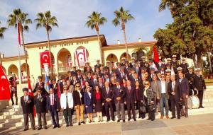 KKTC'nin 34'üncü Kuruluş Yıl Dönümü dolayısıyla Mersin'de tören düzenlendi