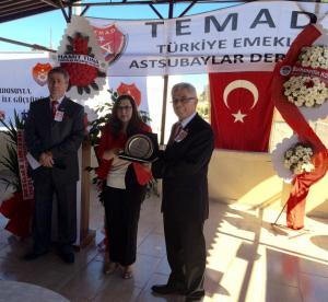 TEMAD'ın 33. Kuruluş Yıldönümü ve Dünya Astsubaylar Günü'nün 6. Yıldönümü Mersin'de törenlerle kutlandı