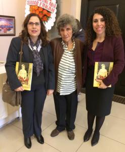 """Başkonsolos İnanıroğlu """"Mersin'in Kanatsız Meleği Lina Nasif"""" isimli kitabın tanıtım etkinliğine katıldı"""