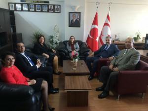 TURAB Başkonsolos İnanıroğlu'nu ziyaret etti