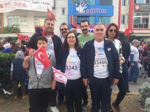 """4. Uluslararası Mersin Maratonu """"Engelleri Aşmak İçin Mersin'e Koş Mersin'de Koş"""" sloganı ile koşuldu"""